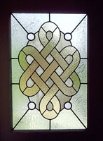 celtic knot door panel