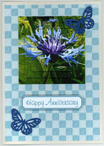example card flowers set 3
