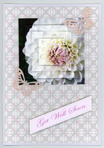 example card flowers set 2