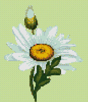 Daisy cross stitch design, Candice Crafts Cross Stitch Shop